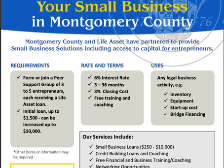 Small Business Funding For African Businesses In Montgomery County