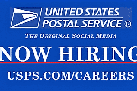 USPS is HIRING NOW!