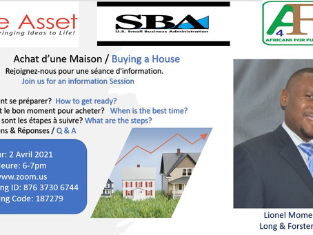 Coming Soon: Webinar-April 2: How to Buy a House in These Times of Uncertainties.