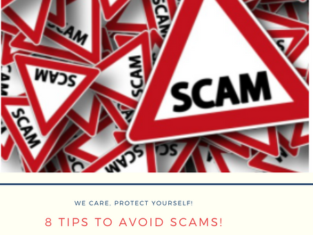 8 Tips to Protect Yourself Against Scams