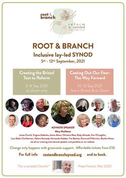Synod 5-12 September 2021 Flier