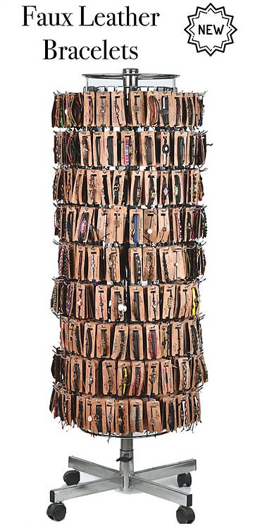 Faux Leather Bracelets