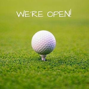 We are open - Golf.jpg