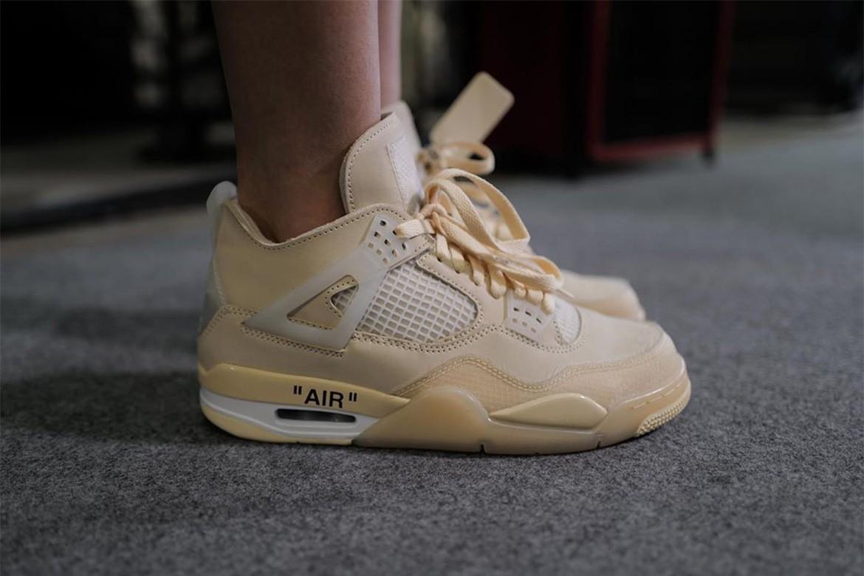 10_Off White x Nike Air Jordan 4_Sail_(2