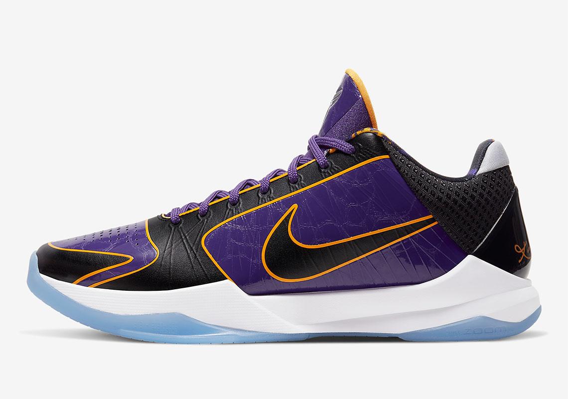 4_Nike Zoom Kobe 5 Proto Lakers