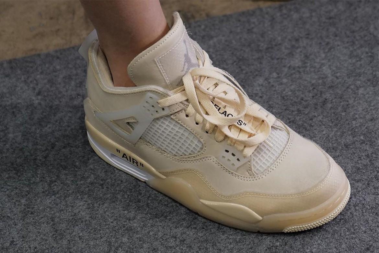 10_Off White x Nike Air Jordan 4_Sail_(4