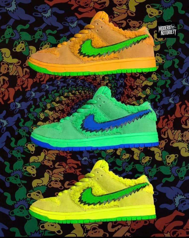 20_Grateful Dead x Nike SB Dunk Low_Danc
