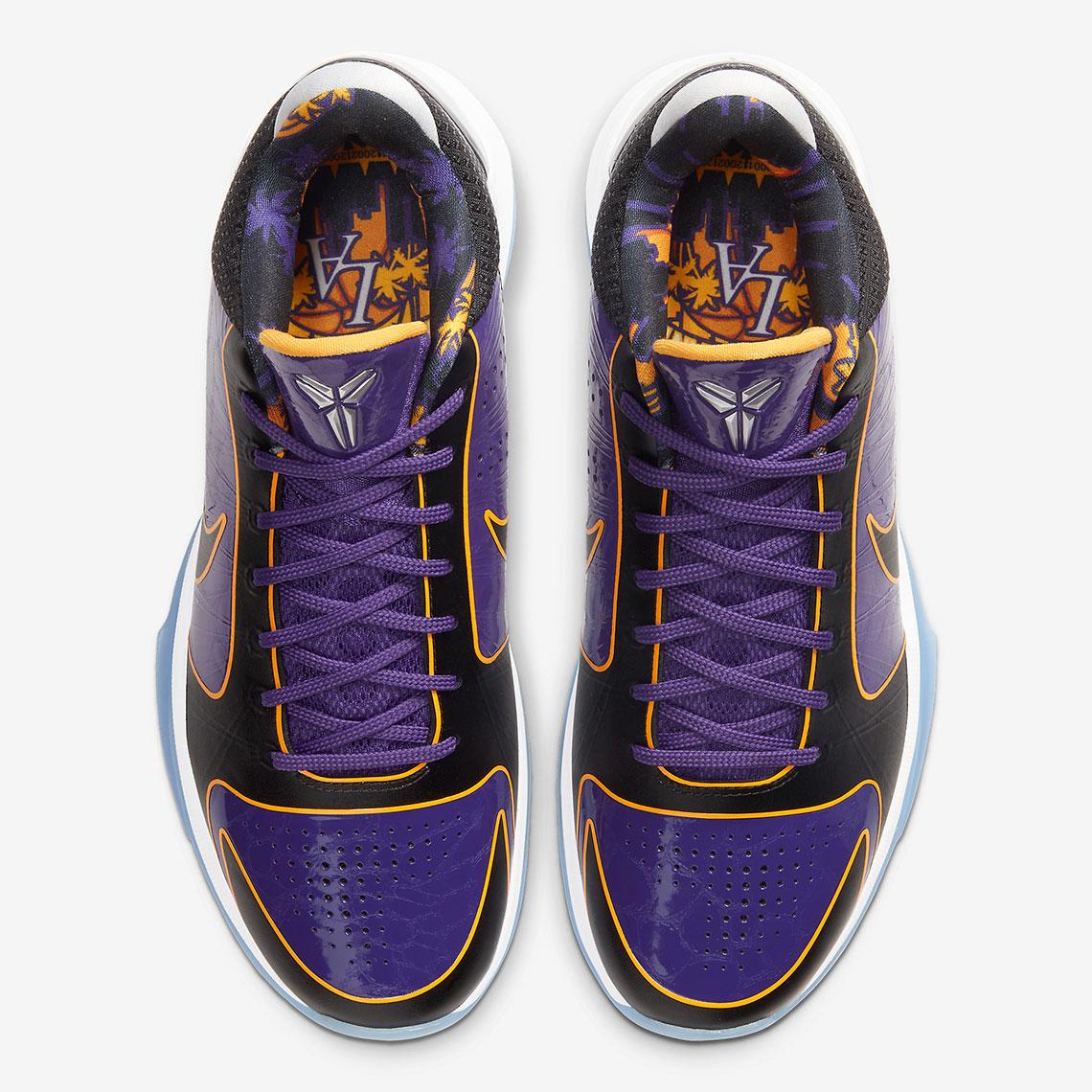 5_Nike Zoom Kobe 5 Proto Lakers