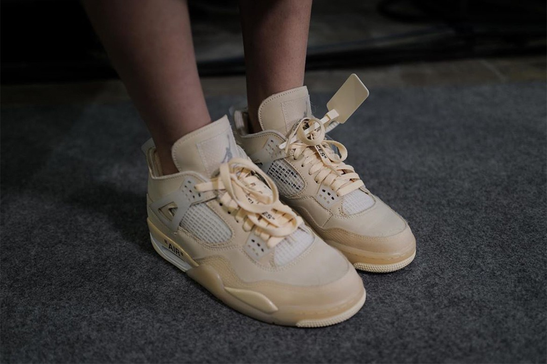 10_Off White x Nike Air Jordan 4_Sail_(1