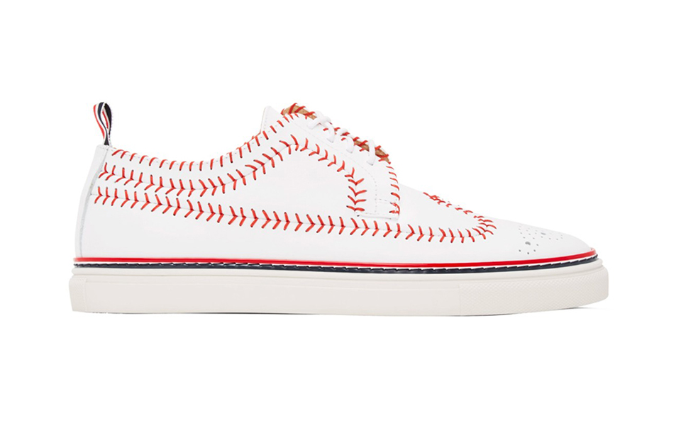 1_Thom Browne_Longwing Baseball Brogue S