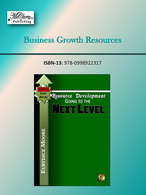 Resource Development - Going to the Next Level