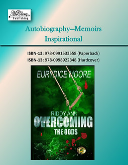 Riddy Ann OVERCOMING The Odds - Hard Cover