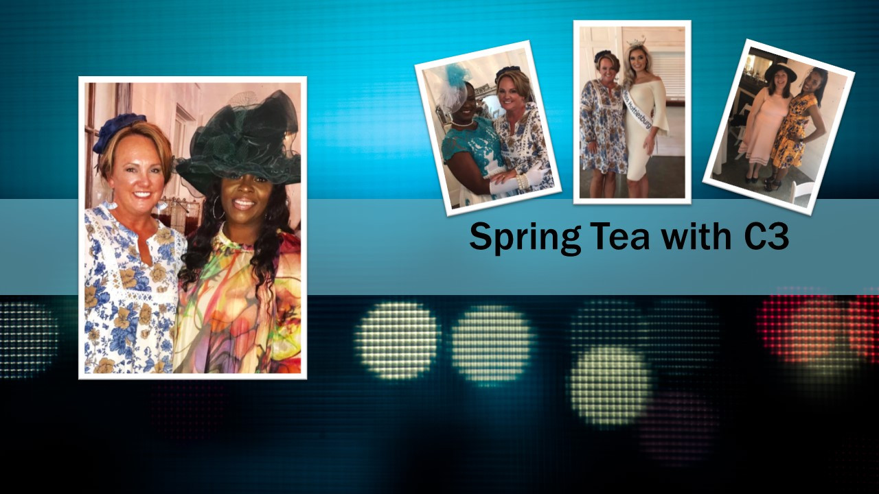 Spring Tea with C3