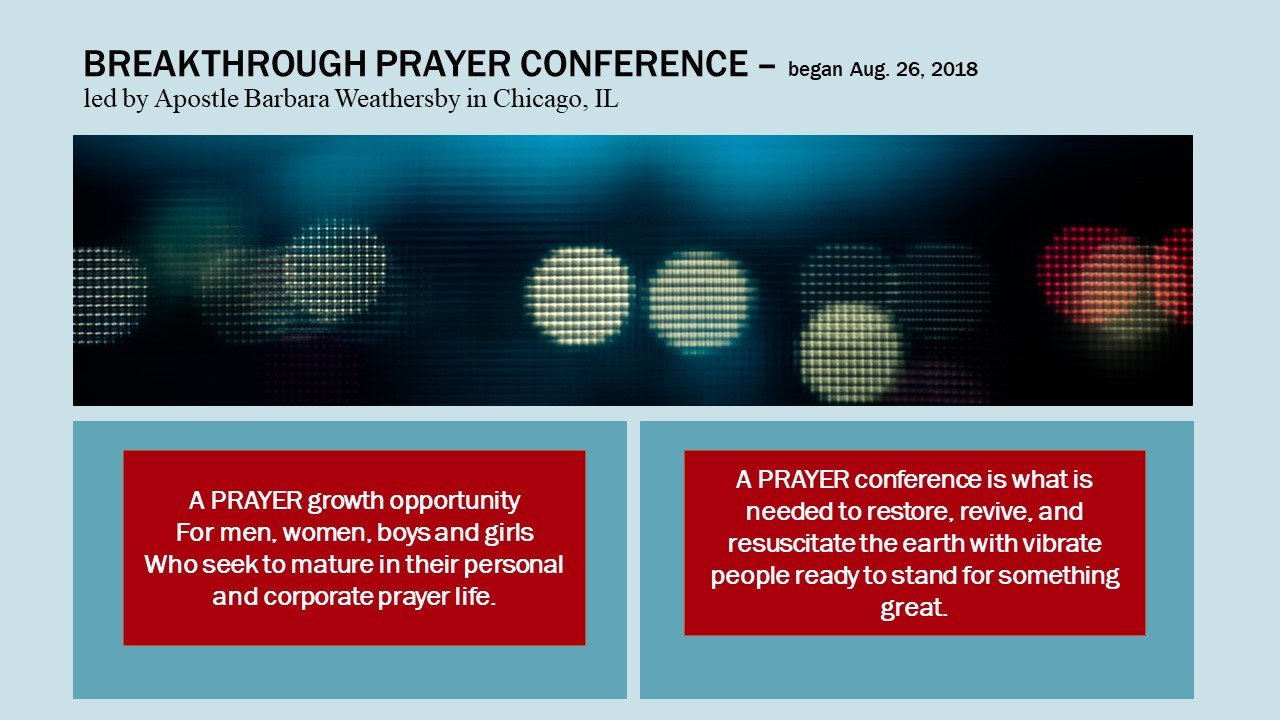 Breakthrough Prayer Conference