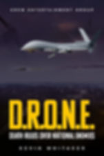 Front Cover - DRONE by Kevin Whitaker.jp