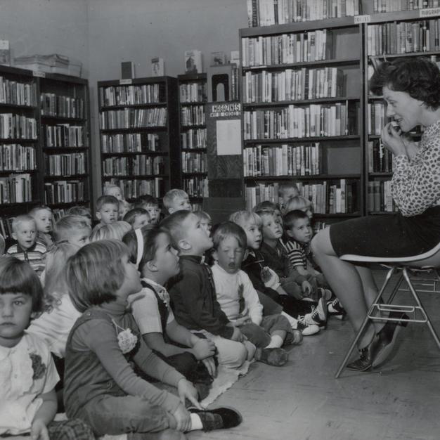 Dottie Doten, EGR Librarian, 1965 - 1968