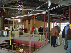 Library tour- mar 4, 2006 under construc