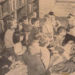 Betty Garver- first EGR Librarian 1959 - 1962