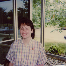 Gail Haebich, EGR Librarian early 1980s - 1995, asst. br. mgr 92-95