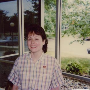 Gail Haebich, EGR Librarian early 1980s - 1995, asst. br. mgr 92-95