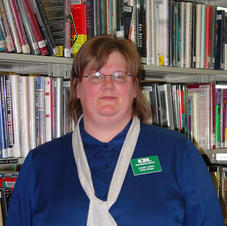 Dawn Lewis, Library Manager, 2003 - today
