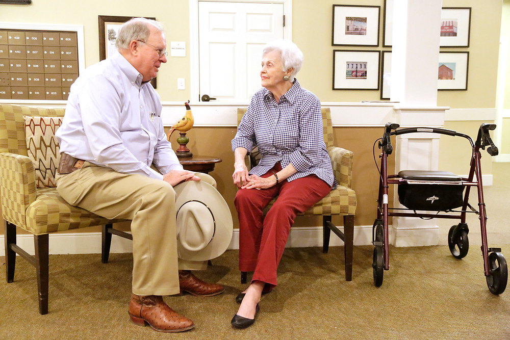 "Hugh Shine often visits with his mother-in-law at a nursing home in Belton. The claim that I supported a ""Granny Tax"" is absolutely false."