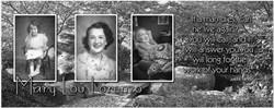 Memorial timeline photo