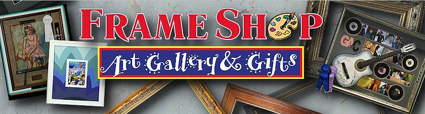 Frame Shop Art Gallery Gifts Logo