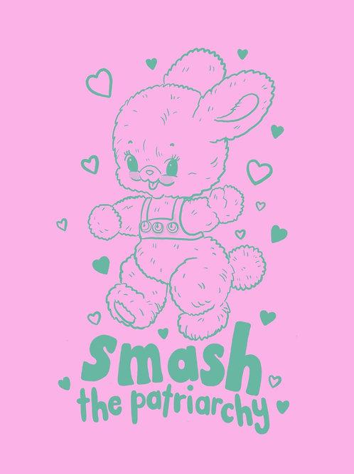Smash the patriarchy print