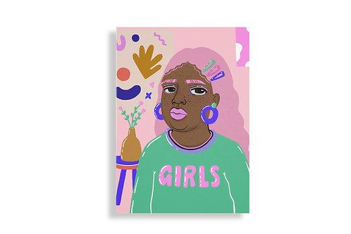 GIRLS print