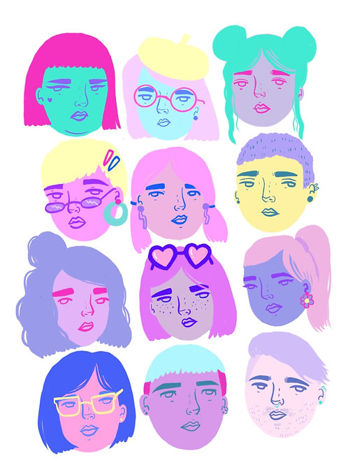 Tears for queers print