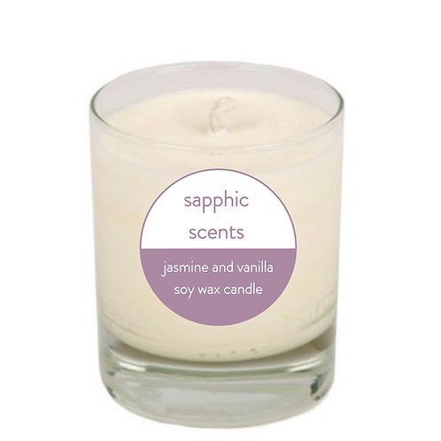 vegan handmade soy wax candle