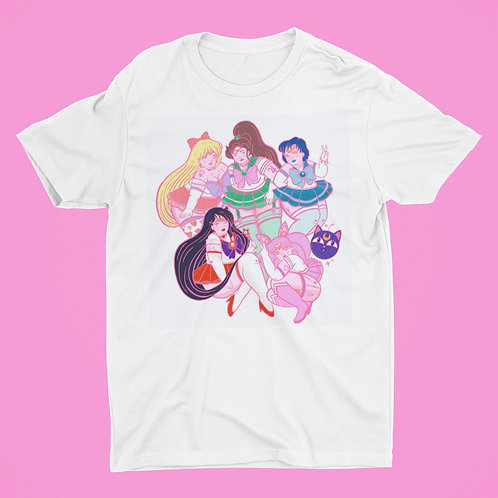 Sailor scouts tee