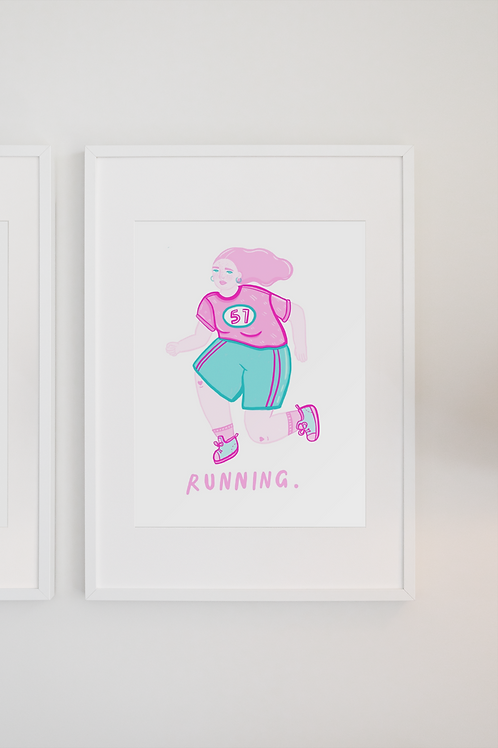 Running print