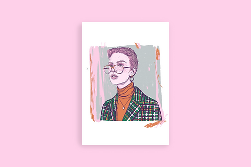 Queer sleuth print