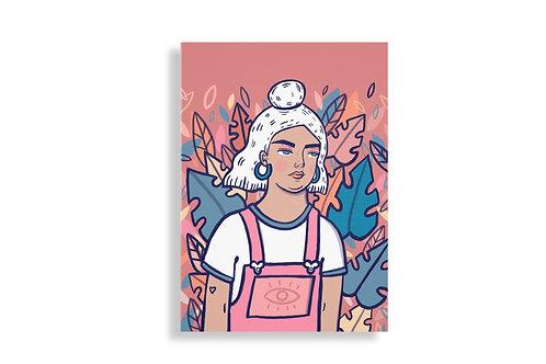 Autumn babe print