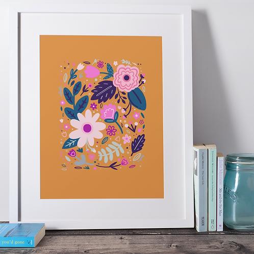 Marmalade floral print
