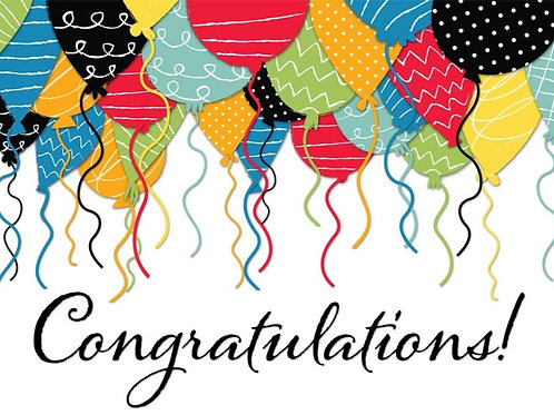 Congratulations  Announcment
