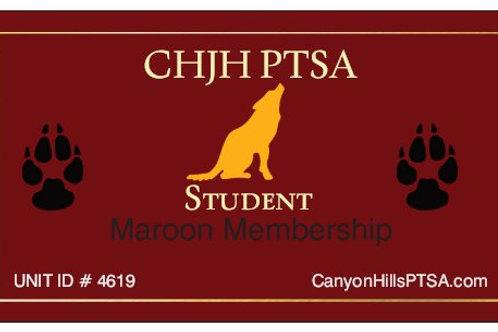 MAROON  PTSA Membership