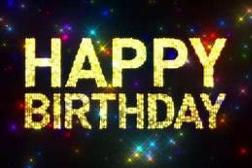 Birthday Announcment