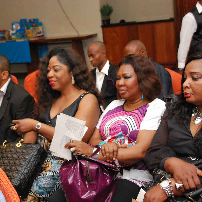 Pamela Yough, MD, Zenith Bank UK with friends