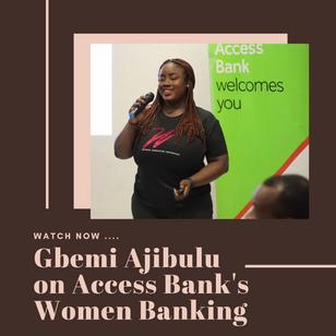 Access Bank's Women Banking