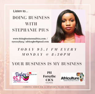 Doing Business with Stephanie Pius on To