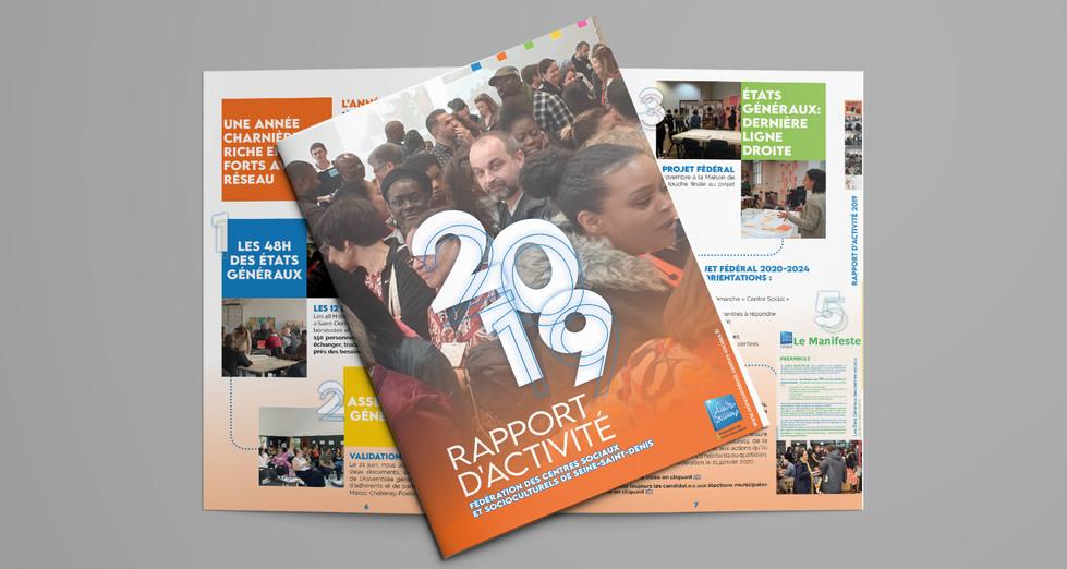 Rapport d'activité FDCS93 2019