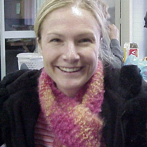 Knitted Mohair Scarf