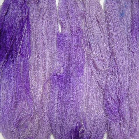 Lavander Boucle Mohair Knitting Yarn