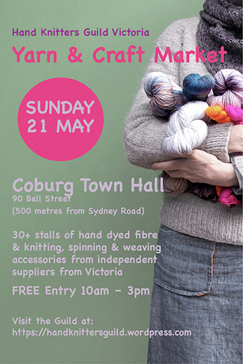 Annual Hand Knitters Guild of Victoria Yarn Market