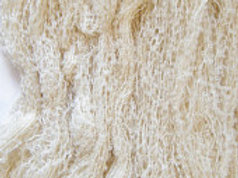Cream Boucle Mohair Knitting Yarn