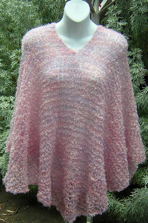 Large Knitted Poncho