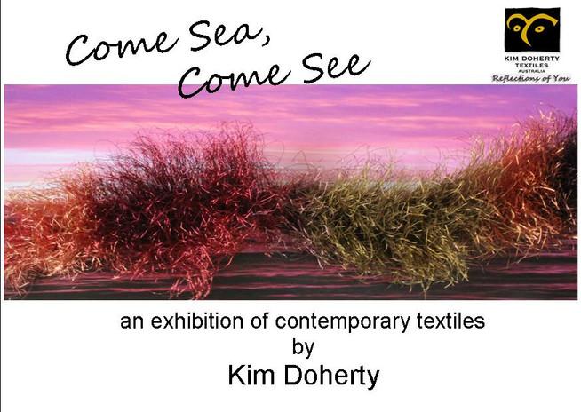 Kim Doherty - Sole Exhibition St. Leonards, Vic.